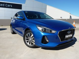 2018 Hyundai i30 PD MY18 Active Blue 6 Speed Manual Hatchback