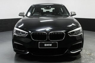 2016 BMW 1 Series F20 LCI M140i Black Sapphire 8 Speed Sports Automatic Hatchback.