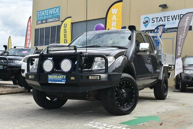 Used Nissan Navara D40 ST-X (4x4) Capalaba, 2006 Nissan Navara D40 ST-X (4x4) 6 Speed Manual Dual Cab Pick-up
