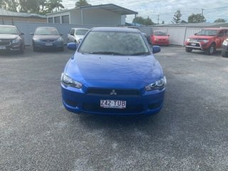 2013 Mitsubishi Lancer CJ MY13 ES Blue 5 Speed Manual Sedan.