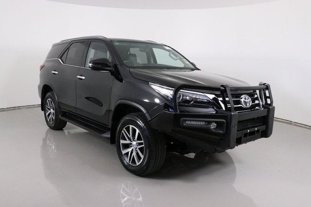Used Toyota Fortuner GUN156R Crusade Bentley, 2019 Toyota Fortuner GUN156R Crusade Black 6 Speed Electronic Automatic Wagon