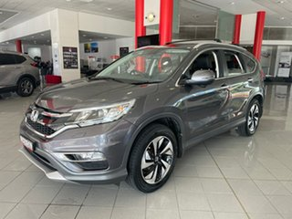 2016 Honda CR-V RM Series II MY17 VTi-L 4WD Grey 5 Speed Sports Automatic Wagon.