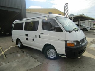 2000 Toyota HiAce RZH113R LWB White 4 Speed Automatic Van.