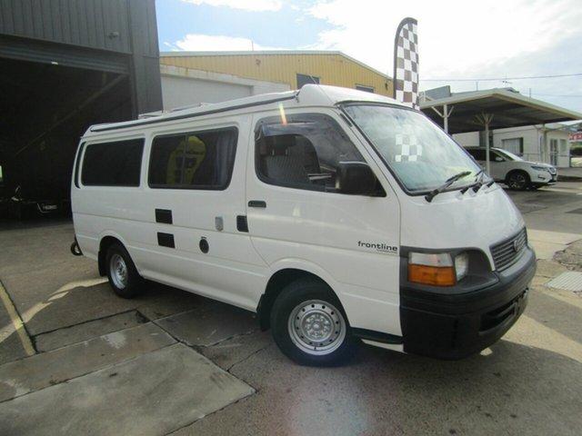 Used Toyota HiAce RZH113R LWB Moorooka, 2000 Toyota HiAce RZH113R LWB White 4 Speed Automatic Van