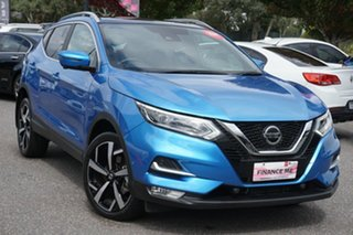 2019 Nissan Qashqai J11 Series 2 Ti X-tronic Blue 1 Speed Constant Variable Wagon.