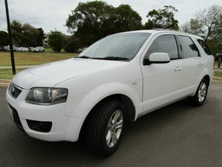 2010 Ford Territory SY SERIERS 11 TX White Automatic Wagon