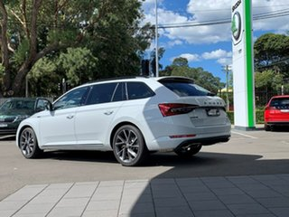 2021 Skoda Superb NP MY21 206TSI DSG SportLine White 6 Speed Sports Automatic Dual Clutch Wagon