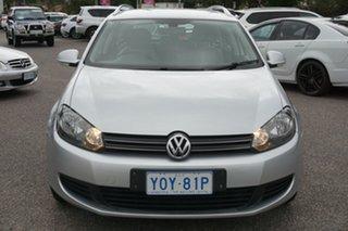 2012 Volkswagen Golf VI MY12.5 103TDI DSG Comfortline Silver 6 Speed Sports Automatic Dual Clutch.