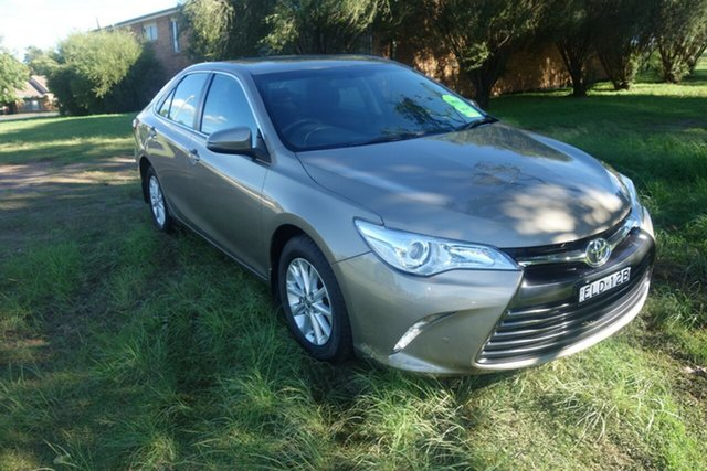 Used Toyota Camry ASV50R Altise East Maitland, 2016 Toyota Camry ASV50R Altise Bronze 6 Speed Sports Automatic Sedan