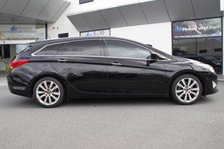 2011 Hyundai i40 VF Premium Tourer Black 6 Speed Sports Automatic Wagon.