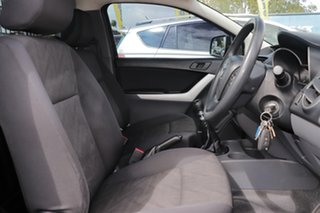 2014 Mazda BT-50 UP0YD1 XT 4x2 Black 6 Speed Manual Cab Chassis