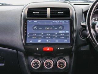 2011 Mitsubishi ASX XA (2WD) Red Continuous Variable Wagon