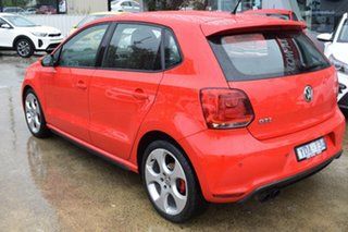 2011 Volkswagen Polo 6R MY11 GTI DSG Red/Black 7 Speed Sports Automatic Dual Clutch Hatchback