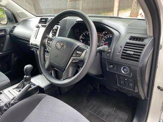 2018 Toyota Landcruiser Prado GDJ150R GX White 6 Speed Sports Automatic Wagon