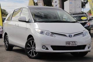 2015 Toyota Tarago GSR50R MY13 Ultima White 6 Speed Sports Automatic Wagon.