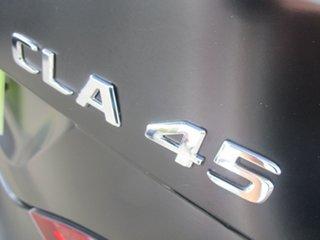 2017 Mercedes-Benz CLA-Class C117 807MY CLA45 AMG SPEEDSHIFT DCT 4MATIC Black 7 Speed