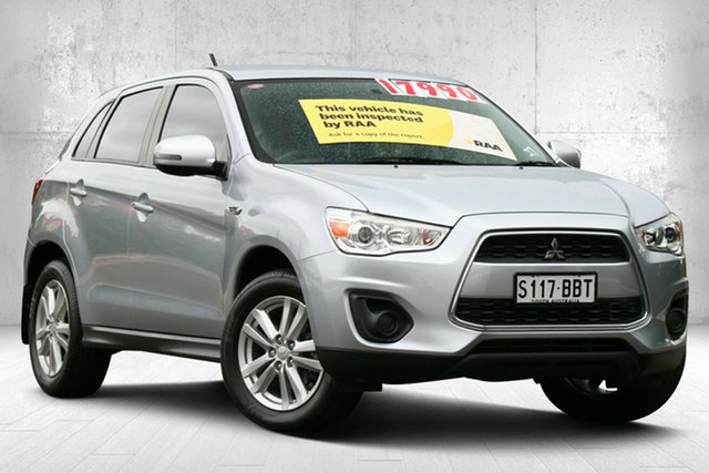 Used Mitsubishi ASX XB MY14 2WD Valley View, 2013 Mitsubishi ASX XB MY14 2WD Cool Silver 6 Speed Constant Variable Wagon