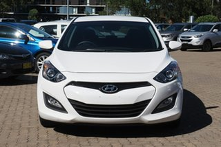 2013 Hyundai i30 GD MY14 Active White 6 Speed Manual Hatchback