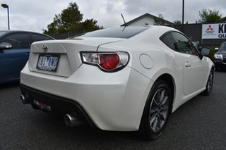 2014 Toyota 86 ZN6 GT White 6 Speed Manual Coupe