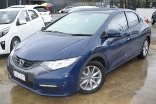 2012 Honda Civic 9th Gen VTi-S Blue 5 Speed Sports Automatic Hatchback.