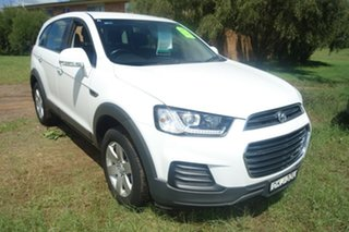 2016 Holden Captiva CG MY17 LS 2WD White 6 Speed Sports Automatic Wagon