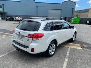 2009 Subaru Outback B5A MY10 2.0D AWD Premium White 6 Speed Manual Wagon