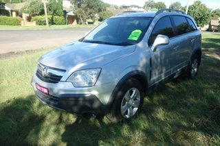 2010 Holden Captiva CG MY10 5 Silver 5 Speed Manual Wagon.