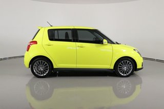 2011 Suzuki Swift EZ 07 Update Sport Yellow 5 Speed Manual Hatchback