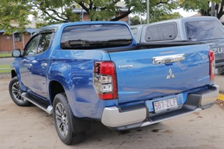 2019 Mitsubishi Triton MR MY20 GLS Double Cab Blue 6 Speed Sports Automatic Utility