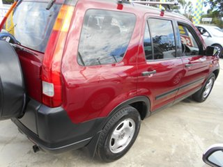 2004 Honda CR-V RD MY2004 4WD Red 5 Speed Manual Wagon