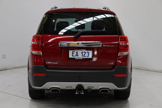 2014 Holden Captiva CG MY14 7 AWD LTZ Red/Black 6 Speed Sports Automatic Wagon