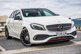 2015 Mercedes-Benz A-Class W176 806MY A250 D-CT 4MATIC Sport White 7 Speed.