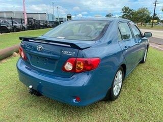 2007 Toyota Corolla ZRE152R Conquest Blue 6 Speed Manual Sedan
