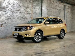 2014 Nissan Pathfinder R52 MY14 ST X-tronic 2WD Gold 1 Speed Constant Variable Wagon.