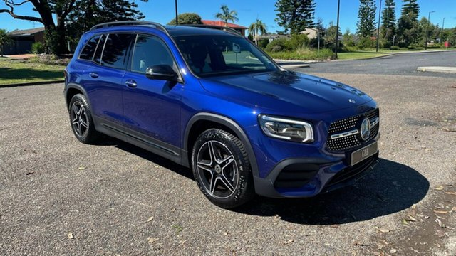 New Mercedes-Benz GLB-Class X247 801MY GLB200 DCT Port Macquarie, 2020 Mercedes-Benz GLB-Class X247 801MY GLB200 DCT Galaxy Blue 7 Speed Sports Automatic Dual Clutch