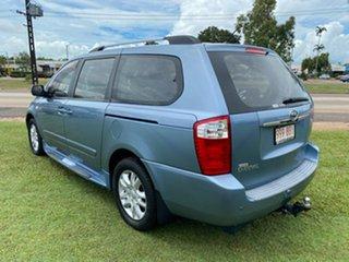 2010 Kia Grand Carnival VQ Premium Blue 5 Speed Sports Automatic Wagon