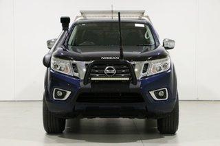 2018 Nissan Navara D23 Series II ST (4x4) Blue 7 Speed Automatic Dual Cab Utility.