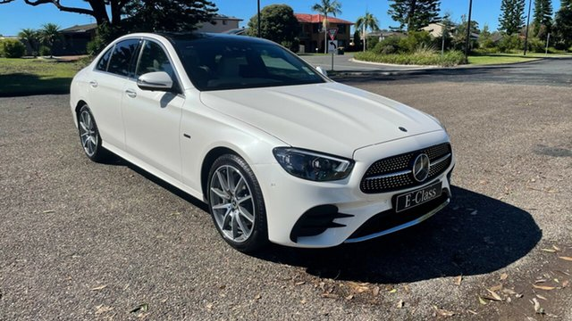 New Mercedes-Benz E-Class W213 801MY E300 9G-Tronic e Port Macquarie, 2020 Mercedes-Benz E-Class W213 801MY E300 9G-Tronic e Designo Diamond White Bright 9 Speed