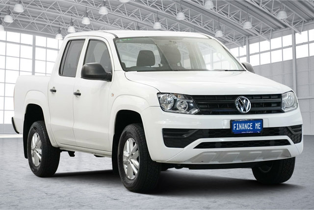 Used Volkswagen Amarok 2H MY18 TDI420 4MOTION Perm Core Victoria Park, 2018 Volkswagen Amarok 2H MY18 TDI420 4MOTION Perm Core White 8 Speed Automatic Cab Chassis