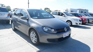 2010 Volkswagen Golf VI MY10 118TSI DSG Comfortline Grey 7 Speed Sports Automatic Dual Clutch Wagon.