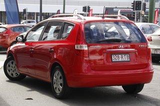 2011 Hyundai i30 FD MY11 SX cw Wagon Red 4 Speed Automatic Wagon.