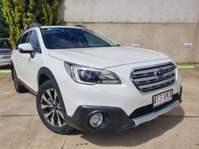 Used Subaru Outback B6A MY15 2.5i CVT AWD Premium Toowoomba, 2014 Subaru Outback B6A MY15 2.5i CVT AWD Premium Crystal White 6 Speed Constant Variable Wagon