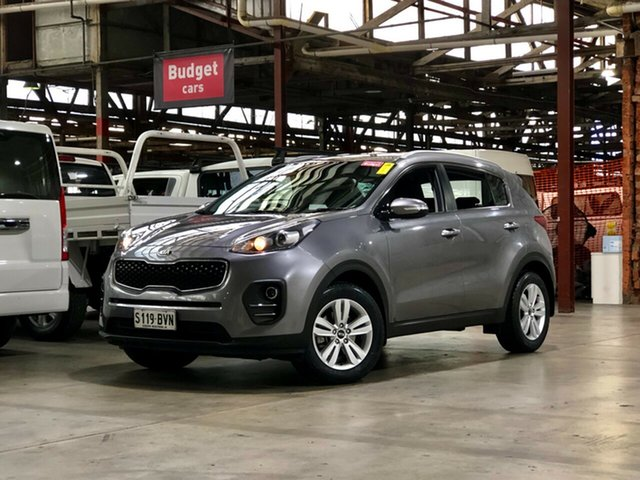 Used Kia Sportage QL MY17 Si 2WD Mile End South, 2017 Kia Sportage QL MY17 Si 2WD Grey 6 Speed Sports Automatic Wagon