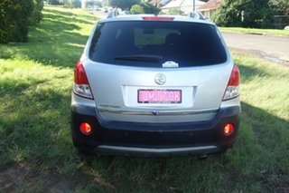 2010 Holden Captiva CG MY10 5 Silver 5 Speed Manual Wagon