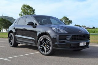 2019 Porsche Macan 95B MY19 PDK AWD Black 7 Speed Sports Automatic Dual Clutch Wagon