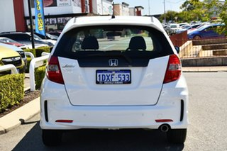 2012 Honda Jazz GE MY12 Vibe-S White 5 Speed Automatic Hatchback