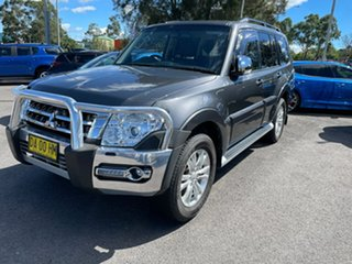 2017 Mitsubishi Pajero NX MY17 GLX Graphite Grey 5 Speed Sports Automatic Wagon