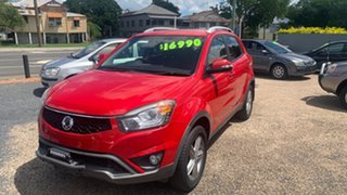 2015 Ssangyong Korando Red 5 Speed Automatic Wagon.