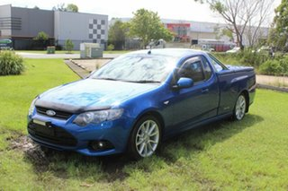 2013 Ford Falcon FG MkII XR6 Super Cab Blue 6 Speed Sports Automatic Cab Chassis.