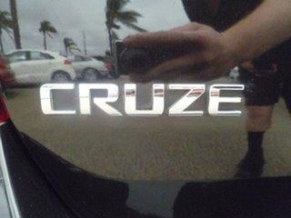 2012 Holden Cruze JH Series II MY12 CDX Black 6 Speed Manual Hatchback